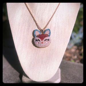Betsey  Johnson charm necklace
